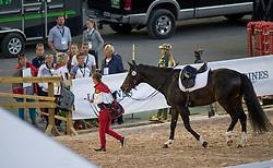 Merkulova Inessa, RUS, Mister X<br /> FEI European Dressage Championships - Goteborg 2017 <br /> © Hippo Foto - Dirk Caremans