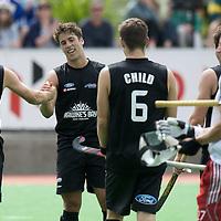 MELBOURNE - Champions Trophy men 2012<br /> England v New Zealand<br /> foto: Golden goal New Zealand in extra time.<br /> FFU PRESS AGENCY COPYRIGHT FRANK UIJLENBROEK