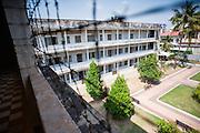 Tuol Sleng Khmer Rouge Prison in Phnom Penh (Cambodia).