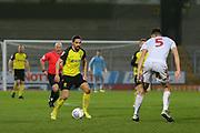 Burton Albion midfielder Ryan Edwards (4) on the ball during the EFL Sky Bet League 1 match between Burton Albion and Accrington Stanley at the Pirelli Stadium, Burton upon Trent, England on 25 January 2020.