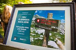 Valvasorjev dom pod Stolom - Naj planinska koca 2016, on September 24, 2016, Valvasorjev dom pod Stolom, Slovenia. Photo by Ziga Zupan / Sportida