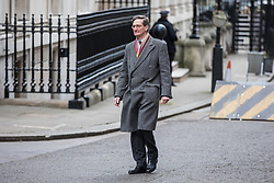 © Licensed to London News Pictures. 29/11/2017. London, UK. Dominic Grieve MP on Downing Street for an undisclosed meeting said to be about 'ideas and strategy'. Photo credit: Rob Pinney/LNP