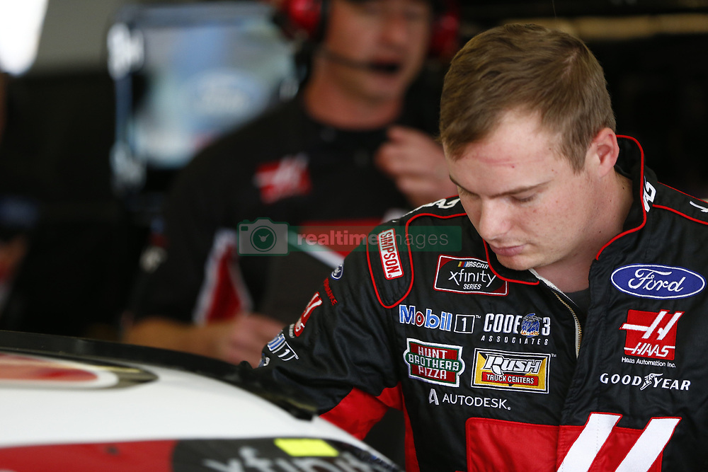November 16, 2018 - Homestead, Florida, U.S. - Cole Custer (00) hangs out in the garage during practice for the Ford 300 at Homestead-Miami Speedway in Homestead, Florida. (Credit Image: © Justin R. Noe Asp Inc/ASP)