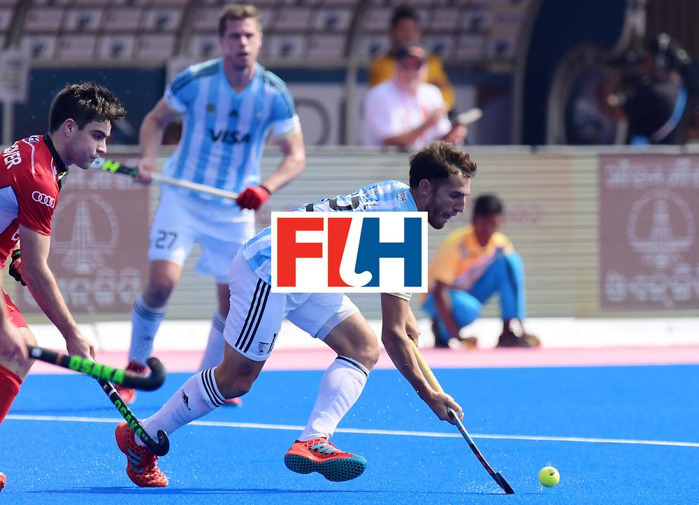 Odisha Men's Hockey World League Final Bhubaneswar 2017<br /> Match id:03<br /> Argentina v Belgium<br /> Foto: VILA Lucas<br /> WORLDSPORTPICS COPYRIGHT FRANK UIJLENBROEK