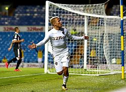 Samu Saiz of Leeds United celebrates scoring a goal to make it 2-1 - Mandatory by-line: Robbie Stephenson/JMP - 09/08/2017 - FOOTBALL - Elland Road - Leeds, England - Leeds United v Port Vale - Carabao Cup
