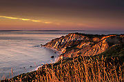 dramatic view of cliffs at Martha's Vineyard
