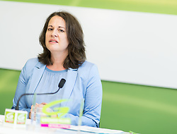 06.06.2017, Grüner Parlamentsklub, Wien, AUT, Grüne, Pressekonferenz zur Penarvorschau und aktuellen Themen. im Bild Nationalratsabgeordnete der Grünen Christiane Brunner // Member of Parliament of the greens Christiane Brunner during media conference of the parliamentary group the greens in Vienna, Austria on 2017/06/06. EXPA Pictures © 2017, PhotoCredit: EXPA/ Michael Gruber