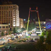 Decatur Celebration in downtown Decatur Illinois