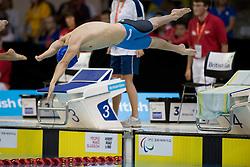 UKR, BOHODAYKO Yevheniy (S7)  at 2015 IPC Swimming World Championships -  Men's 100m Freestyle S7