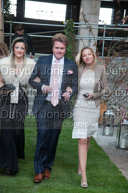 SHOSANA DADOUN; JUSTIN DRUMMOND; ELENA SEREDA, Gabrielle's Gala 2013 in aid of  Gabrielle's Angels Foundation UK , Battersea Power station. London. 2 May 2013.