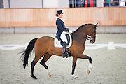 Mara de Vries - Amos<br /> KNHS Indoorkampioenschappen 2016<br /> © DigiShots