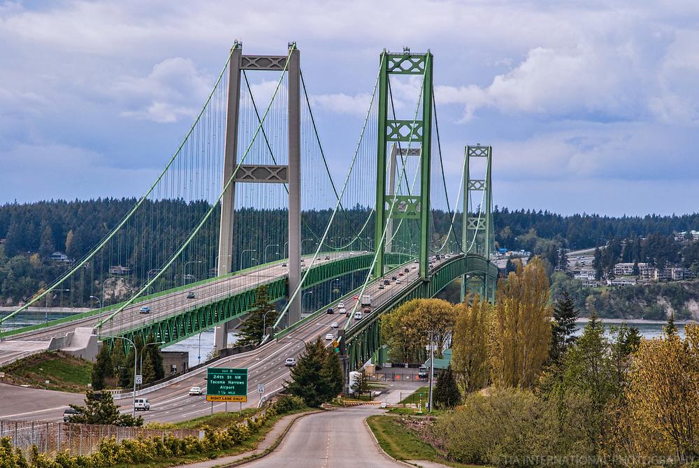 Tacoma Narrows Bridge, Tacoma, Washington, USA
