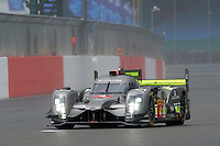 Simon Trummer (CHE) / Oliver Webb (GBR) James Rossiter (GBR)  #4 Bykolles Racing Team CLM P1/01 - AER, WEC 6 Hours of Silverstone 2016 at Silverstone, Towcester, Northamptonshire, United Kingdom. April 16 2016. World Copyright Peter Taylor.