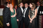 ALAN PARKER; MELANIE SHERWOOD; JAMES SHERWOOD; MIKE SHERWOOD; ALLIE ESIRI;, The Secret Winter Gala in aid of Save the Children and sponsored by Bulgari. Guildhall. London. 26 November 2013