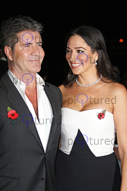 Simon Cowell & Lauren Silverman, Music Industry Trusts Award, Grosvenor House, London UK, 02 November 2015, Photo by Brett D. Cove