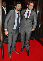LONDON - July 12: Charlie King & Ricky Rayment at the ITV Summer Party (Photo by Brett D.Cove)