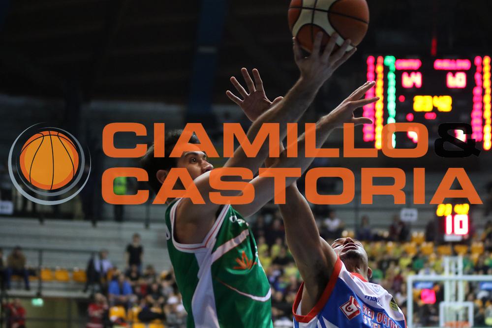 Fitipaldo Bruno<br /> Pallacanestro Cantu' - Sidigas Scandone Avellino<br /> Serie A  2017/2018<br /> Desio 04/03/2018<br /> Foto Ciamillo-Castoria