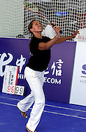 SINGER & ACTRESS VANESSA WILLIAMS (USA) DURING SPORT EXPERIENCE INCLUDING SPECIAL OLYMPICS WORLD SUMMER GAMES SHANGHAI 2007..SPECIAL OLYMPICS IS AN INTERNATIONAL ORGANIZATION DEDICATED TO EMPOWERING INDIVIDUALS WITH INTELLECTUAL DISABILITIES..SHANGHAI , CHINA , OCTOBER 01, 2007.( PHOTO BY ADAM NURKIEWICZ / MEDIASPORT )..