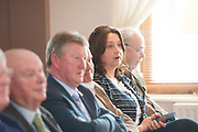 14/05/2017  Repro Free:   Anne Rabbitte TD listening to  Minister Simon Coveney was in Kinvara to officially open the new wastewater treatment plant which was constructed following an investment of €5.1 million by Irish Water. . Photo:Andrew Downes, xposure