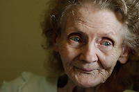 08/20/03 Roanoke Rapids - Mary Kidd is one of the many seniors in Roanoke Rapids who depend on Meals on Wheels.