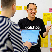 Inside the offices of Chicago tech company Solstice, who help Fortune 500 with digital soulutions