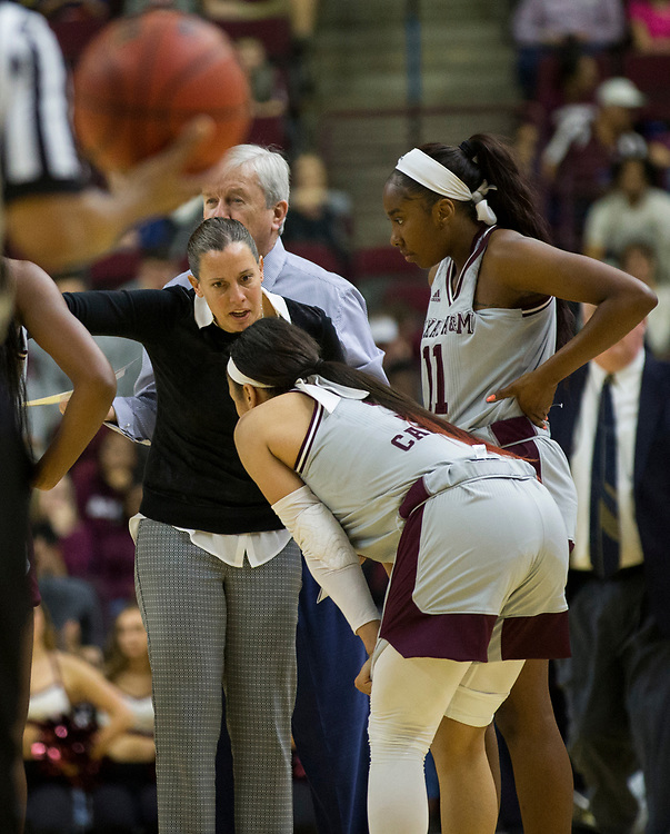 Georgia vs. Texas A&M in a NCAA women's basketball game Sunday, Jan. 14th, 2018, in College Station, Texas.