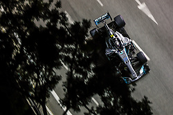 September 16, 2017 - Singapore, Singapore - Motorsports: FIA Formula One World Championship 2017, Grand Prix of Singapore, ..#77 Valtteri Bottas (FIN, Mercedes AMG Petronas F1 Team) (Credit Image: © Hoch Zwei via ZUMA Wire)