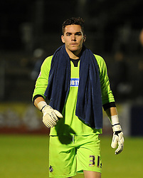Lee Nicholls of Bristol Rovers - Mandatory byline: Neil Brookman/JMP - 07966 386802 - 06/10/2015 - FOOTBALL - Memorial Stadium - Bristol, England - Bristol Rovers v Wycombe Wanderers - JPT Trophy