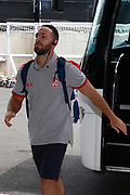 Luke Gale of England arrives to the Rugby League World Cup Quarter-Final match between England and  Papua New Guinea at Melbourne Rectangular Stadium, Melbourne, Australia on 19 November 2017. Photo by Mark  Witte.