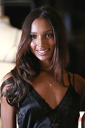 VictoriaÕs Secret Angel Jasmine Tookes at the brandÕs New Bond Street store in London to celebrate them introducing the LIVY lingerie brand.