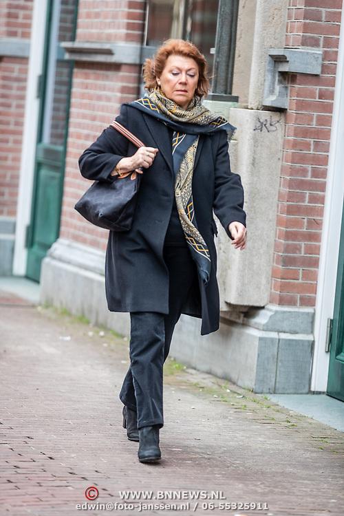 NLD/Amsterdam//20170309 - Herdenkingsdienst Guus Verstraete, Bruni Heinke