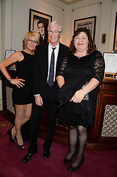 Left to right, LINDA HENRY, PAUL O'GRADY and CHERYL FERGUSON at an evening with Al Pacino held at The London Palladium, London on 2nd June 2013.