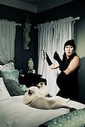 Pregnant Cat Burglar