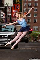 Chinatown Dance Art Art The New York City Photography Project featuring balleraina Sigrid Glatz