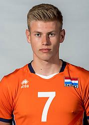 08-06-2018 NED: Photoshoot selection of Orange Young Boys, Arnhem <br /> Orange Young Boys 2018 - 2019 / Bennie Tuinstra #7 of Netherlands