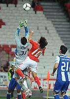 20120320: LISBON, PORTUGAL: Portuguese League Cup 2011/2012: SL Benfica vs FC Porto.<br />In picture: Pablo Aimar and Bracali<br />PHOTO: Alvaro Isidoro/CITYFILES