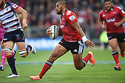 Robbie Fruean. Crusaders v Rebels. Super Rugby. Christchurch, New Zealand. Friday 13 February 2015. Copyright Photo: Andrew Cornaga / www.photosport.co.nz