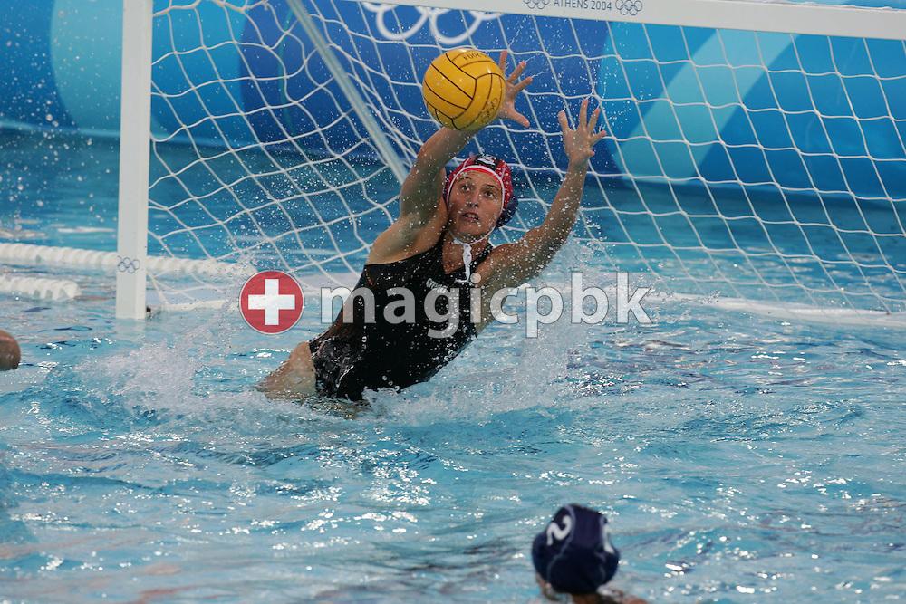 Waterpolo GRE - ITA  (?:?) Gold Medal Match, Women....ita wehrt ab....Photo by PATRICK B. KRAEMER (Photo by Patrick B. Kraemer / MAGICPBK)