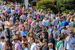 © Licensed to London News Pictures. 25/05/2019. London, UK.Large crowd at the final day of the show. The Royal Horticultural Society Chelsea Flower Show is an annual garden show held in the grounds of the Royal Hospital Chelsea in West London since 1913. Photo credit: Dinendra Haria/LNP