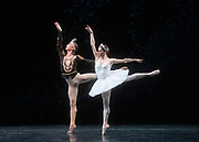 La Bayadere <br /> A ballet in three acts <br /> Choreography by Natalia Makarova <br /> After Marius Petipa <br /> The Royal Ballet <br /> At The Royal Opera House, Covent Garden, London, Great Britain <br /> General Rehearsal <br /> 30th October 2018 <br /> <br /> STRICT EMBARGO ON PICTURES UNTIL 2230HRS ON THURSDAY 1ST NOVEMBER 2018 <br /> <br /> Marianela Nunez as Nikiya <br /> A Bayadere and a temple dancer <br /> <br /> Vadim Muntagirov as Solor <br /> A warrior <br /> <br /> <br /> Photograph by Elliott Franks Royal Ballet's Live Cinema Season - La Bayadere is being screened in cinemas around the world on Tuesday 13th November 2018 <br />