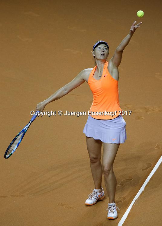 MARIA SHARAPOVA (RUS)<br /> <br /> Tennis - Porsche  Tennis Grand Prix 2017 -  WTA -  Porsche-Arena - Stuttgart -  - Germany  - 26 April 2017.