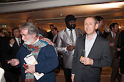 TOM PHILLIPS; GREGORY PORTER; , The Sky South Bank Arts Awards, Dorchester Hotel , Park Lane, London. 1 May 2012.