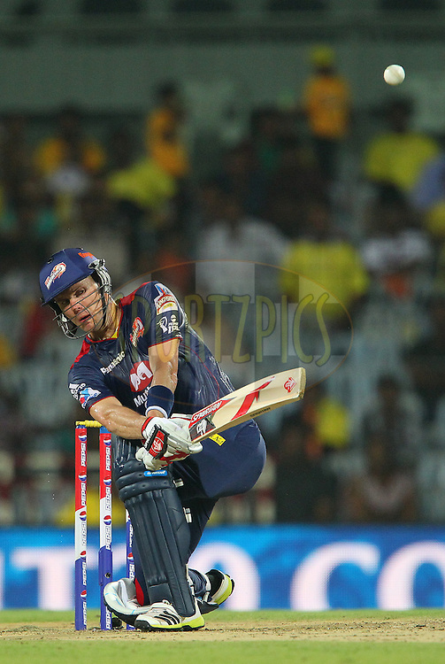 Johan Botha during match 64 of the Pepsi Indian Premier League between The Chennai Superkings and the Delhi Daredevils held at the MA Chidambaram Stadium in Chennai on the 14th May 2013..Photo by Ron Gaunt-IPL-SPORTZPICS   .. .Use of this image is subject to the terms and conditions as outlined by the BCCI. These terms can be found by following this link:..http://www.sportzpics.co.za/image/I0000SoRagM2cIEc