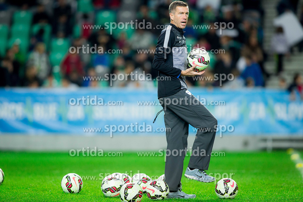 Srecko Katanec, head coach during practice session of Slovenian National football Team before EURO 2016 Qualification game against England, on November 11, 2014 in SRC Stozice, Ljubljana, Slovenia. Photo by Vid Ponikvar / Sportida