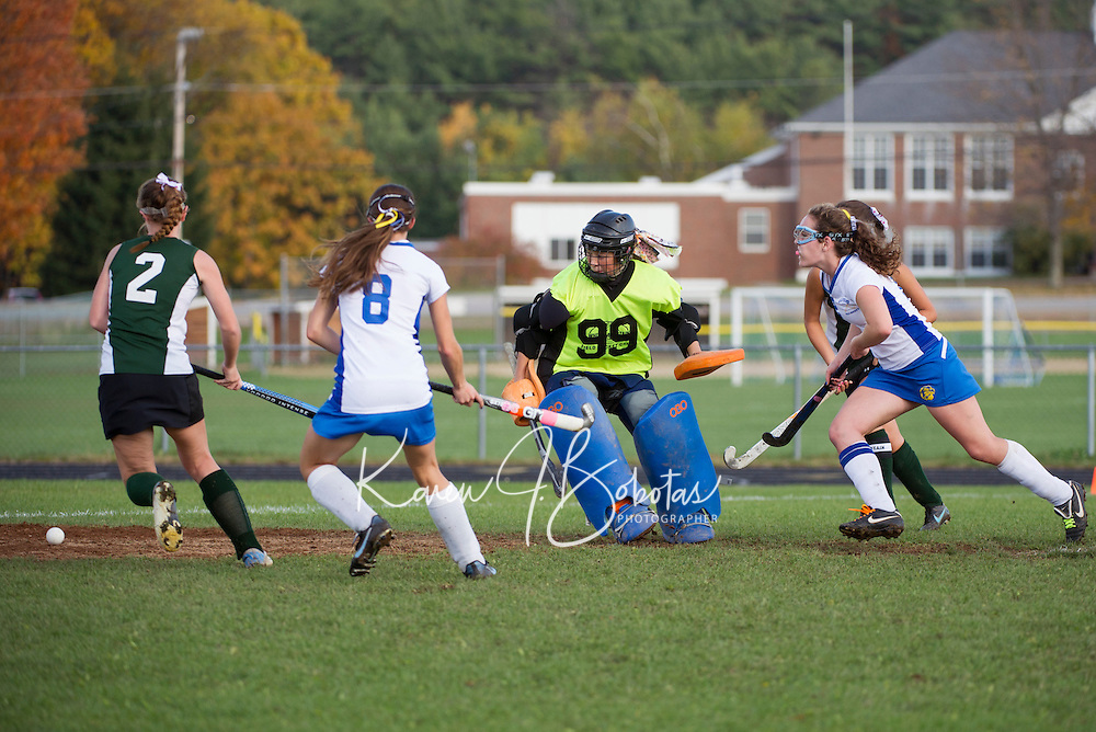 Field Hockey Gilford versus Hopkinton Saturday,  October 20, 2012