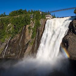 Montmorency Falls near Quebec City.