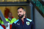 Burnley players arrive at the Pirelli Stadium during the EFL Cup match between Burton Albion and Burnley at the Pirelli Stadium, Burton upon Trent, England on 25 September 2018.