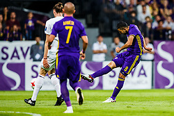 Marwan Kabha #8 of NK Maribor during 1st Leg football match between NK Maribor (SLO) and FH Hafnarfjordur (ISL) in Third qualifying round of UEFA Champions League 2017/18, July 26, 2017, in Stadium Ljudski vrt, Maribor, Slovenia. Photo by Grega Valancic / Sportida