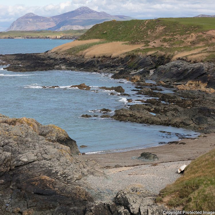 Porth Llydan & Yr Eifl, Llŷn Peninsula, Gwynedd.