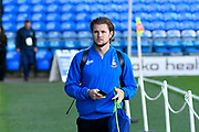 Jake Reeves (4) of Bradford City arrives at Fratton Park stadium before the EFL Sky Bet League 1 match between Portsmouth and Bradford City at Fratton Park, Portsmouth, England on 28 October 2017. Photo by Graham Hunt.